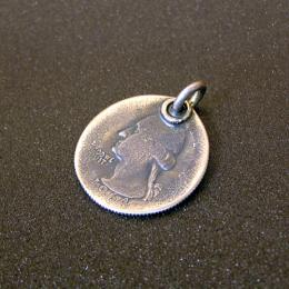 PENDANT TOP 25cent COIN
